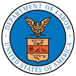 Occupational Safety and Health Administration/Department of Labor Logo